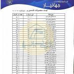 لیست قیمت محصولات جهانیار شهریور 1400 صفحه اول